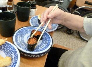 回転寿司に行ってきました!